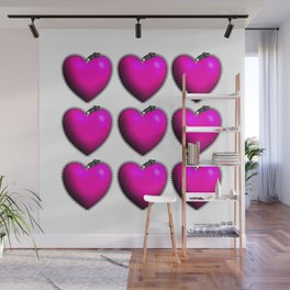 You Have My Heart all Zipped Up Wall Mural