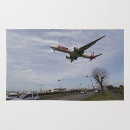 Tam Boeing 777 Heathrow Airport Rug