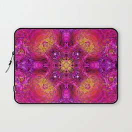 PEONY IN JUNE ABSTRACT Laptop Sleeve