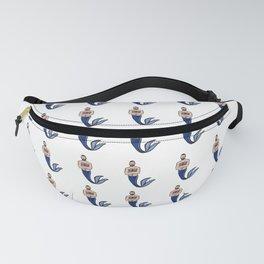 Beard Boy: Blue Merman  Fanny Pack