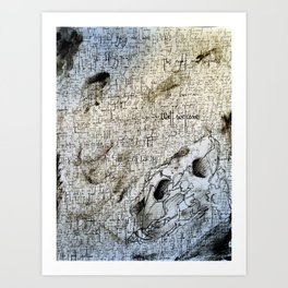 Core of the Lioness Art Print