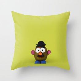 Mr. Kiwi Throw Pillow