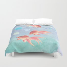 Around the bowl in Eighty seconds Duvet Cover