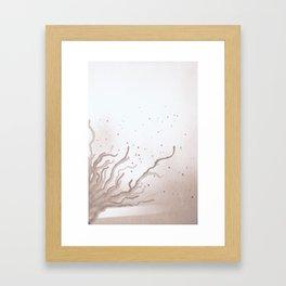 Haze. Framed Art Print