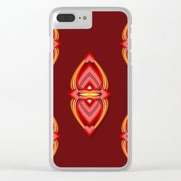 True Love Bond (Valentine) Clear iPhone Case