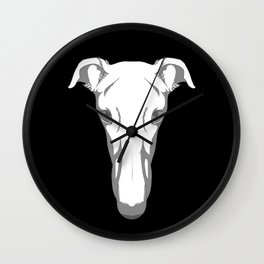 Greyhound Team Snooter Wall Clock