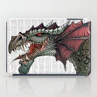 dragon iPad Cases featuring dragon by Erdogan Ulker