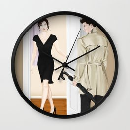 the steaks are at stake Wall Clock
