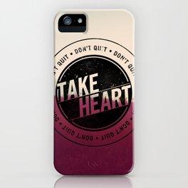 Take Heart iPhone Case