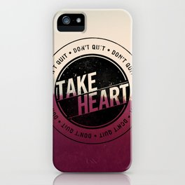 Take Heart iPhone Case