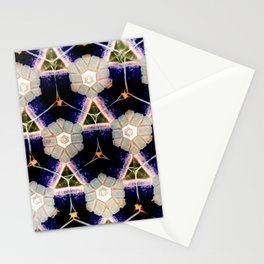Modern Moroccan Royal Purple Stationery Cards