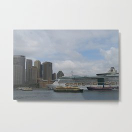 Cruisin' Through Sydney Metal Print
