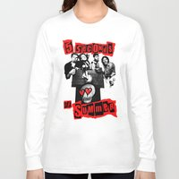 5 seconds of summer Long Sleeve T-shirts featuring FIVE SECONDS  by dan ron eli