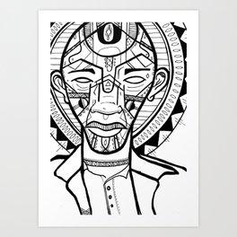 Chid of the Sun Art Print
