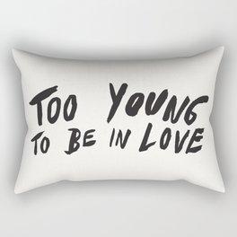 Young Unlover Rectangular Pillow