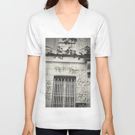 Exclusive 2020: Fvck Trump - White House Unisex V-Neck