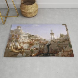 The Course of Empire: The Consummation of Empire (1835-1836) by Thomas Cole Rug