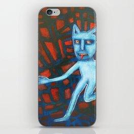 Catman On the Run iPhone Skin