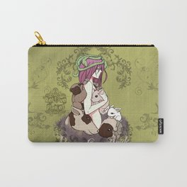 Vegan Love Pride Carry-All Pouch