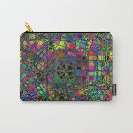 Chaos of Colours Carry-All Pouch