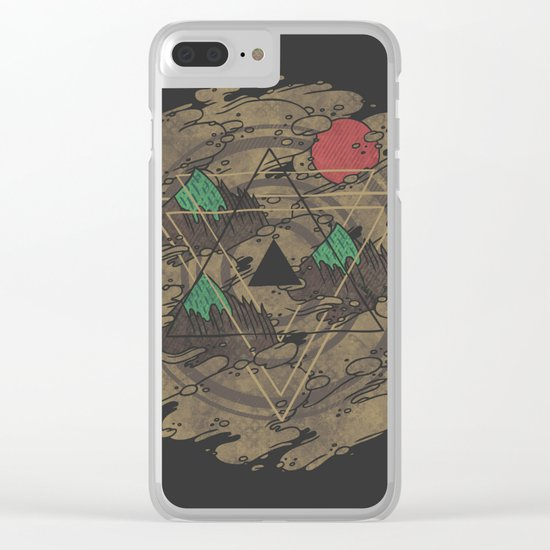 Amidst the Mist Clear iPhone Case