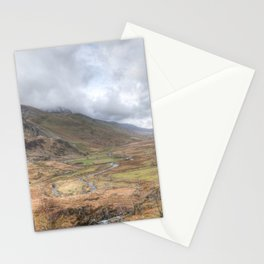 Down the valley Stationery Cards