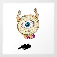 Donut Smash Art Print