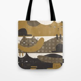 TRIPLE DECKER Tote Bag