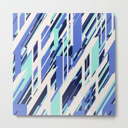 Stripe Bliss Metal Print