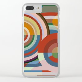 Colour Revolution TWO Clear iPhone Case