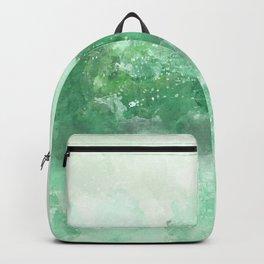 Choppy Turquoise Ocean Water Backpack