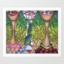 N O P E . Art Print