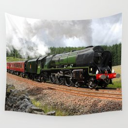46233 Duchess of Sutherland Wall Tapestry