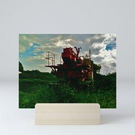 Overcast  Mini Art Print