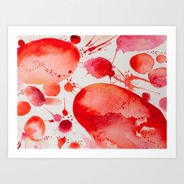 Pink Study Art Print