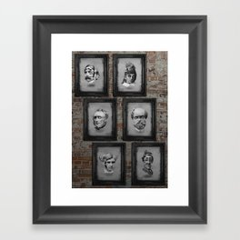 Floating Freaks Framed Art Print