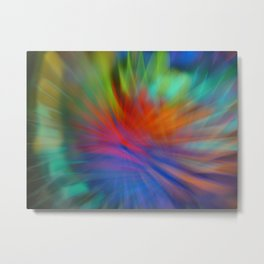 Unbelievable light refraction Metal Print