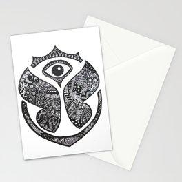 mariposa observando Stationery Cards