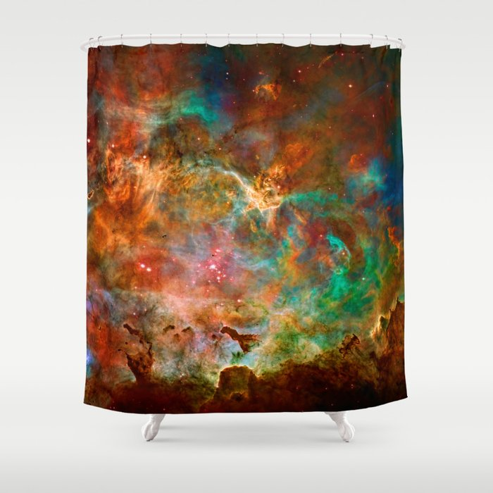Carina Nebula Space Beauty Shower Curtain