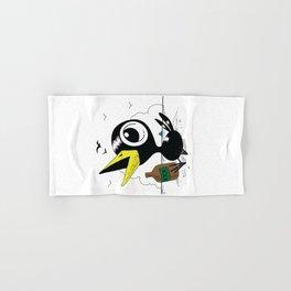 Drinky Crow! Hand & Bath Towel