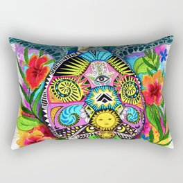 Turtle Hawaii Rectangular Pillow