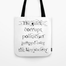 The Quick Corrupt Tote Bag