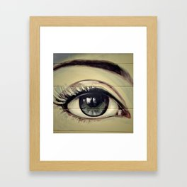 Eyes are Windows to the Soul Framed Art Print