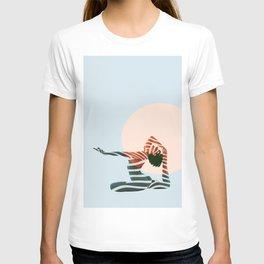 ZEBRA PAINT GIRL T-shirt