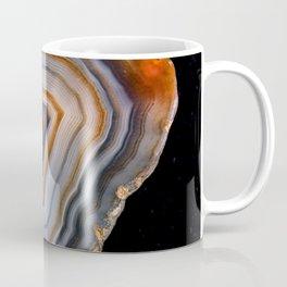 Layered agate geode 3163 Coffee Mug