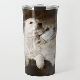 Cute labrador puppies Travel Mug