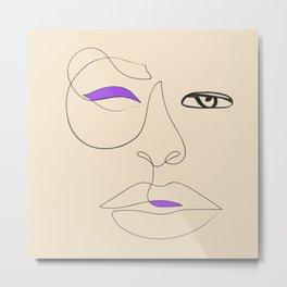 Abstract Modern Reflective Art-32 Metal Print