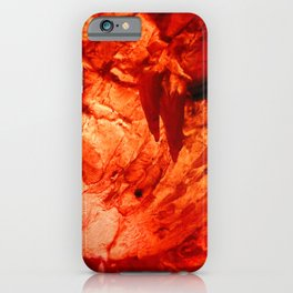 Red Ice Cave iPhone Case