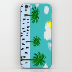 Urlaub iPhone & iPod Skin