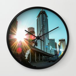 Downtown Vancouver Beauty Wall Clock